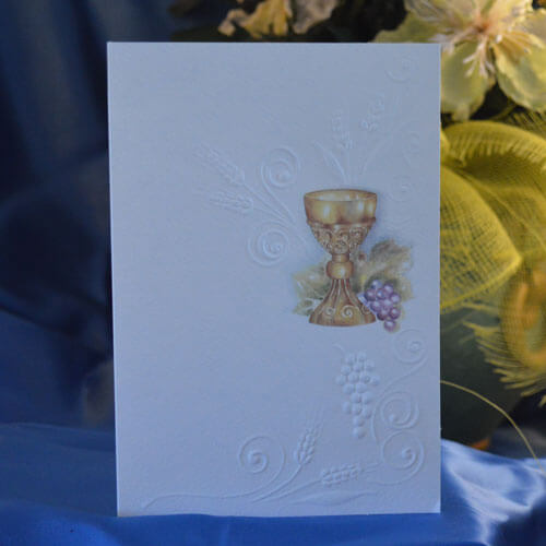 Italian Invitations and Prayer Cards