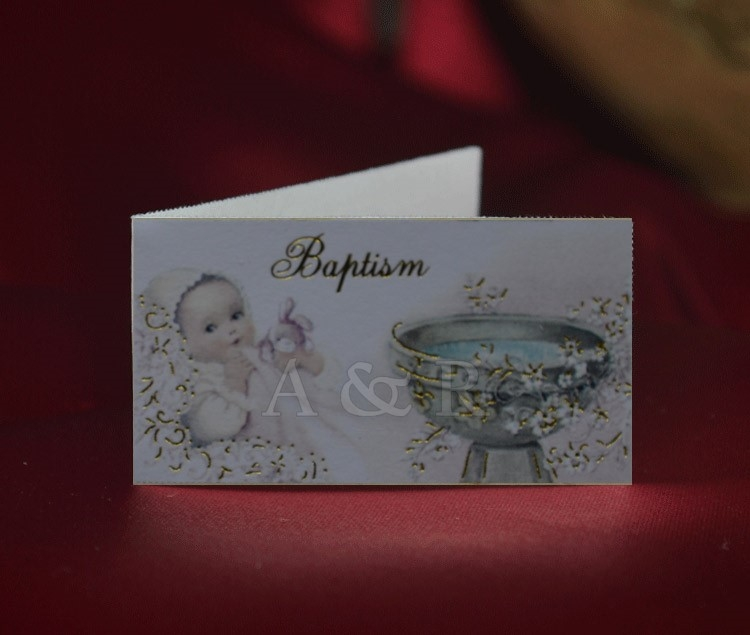 Baptism Christening Favor Tags