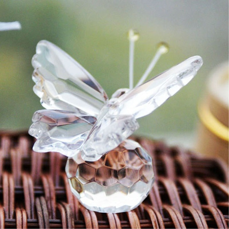 Crystal & Glass Wedding Favors