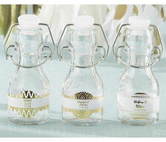 27079NA-PR Personalized Mini Glass Favor Jars  - Little Prince (Set of 12)