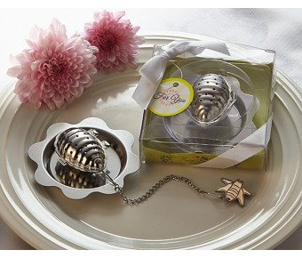 "A73012 ""Sweet Bee-ginnings"" Beehive Tea Infuser"