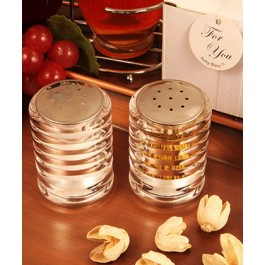 "RB1117 ""Accents of Love"" Salt and Pepper Shaker Set"