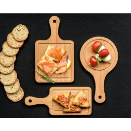 Tasteful Tapas Mini Appetizer Boards (Set of 3) by myitalianfavors.com