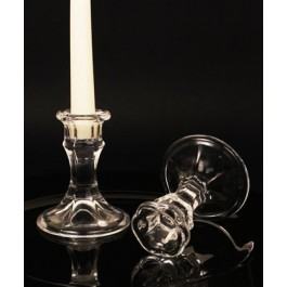 "RB6959 ""Candle Elegance"" Glass Candle Holder"