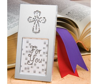 3702 Shining Cross Picture Frame