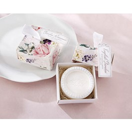 21060NA English Garden Soap In Floral Box