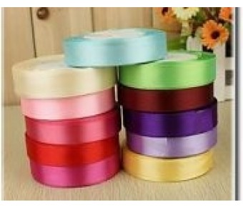 "PR500 5/8"" Personalized Satin Ribbon plain edge"