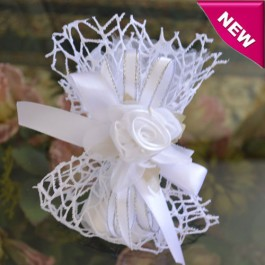 AF75 Italian Wedding Favor with Craft Flower