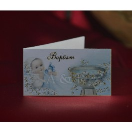Italian Favor Tags Bigliettini for Baptism