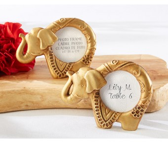 25243GD Lucky Golden Elephant Frame