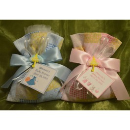 AF1524 Almond favors, Baby Shower favors, koufeta mementos, italian favors