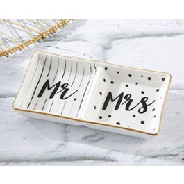 23155NA Mr. and Mrs. Ring Dish