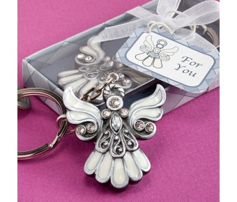 6532 Angel Design Keychain Favors