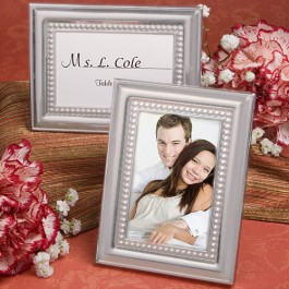 5706 Matte Silver  Metal Place Card/Photo Frames