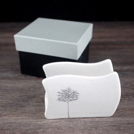 Napkin Holder with tree of Life motif by myitalianfavors.com