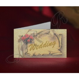 Italian Wedding Favor Tags Bigliettini