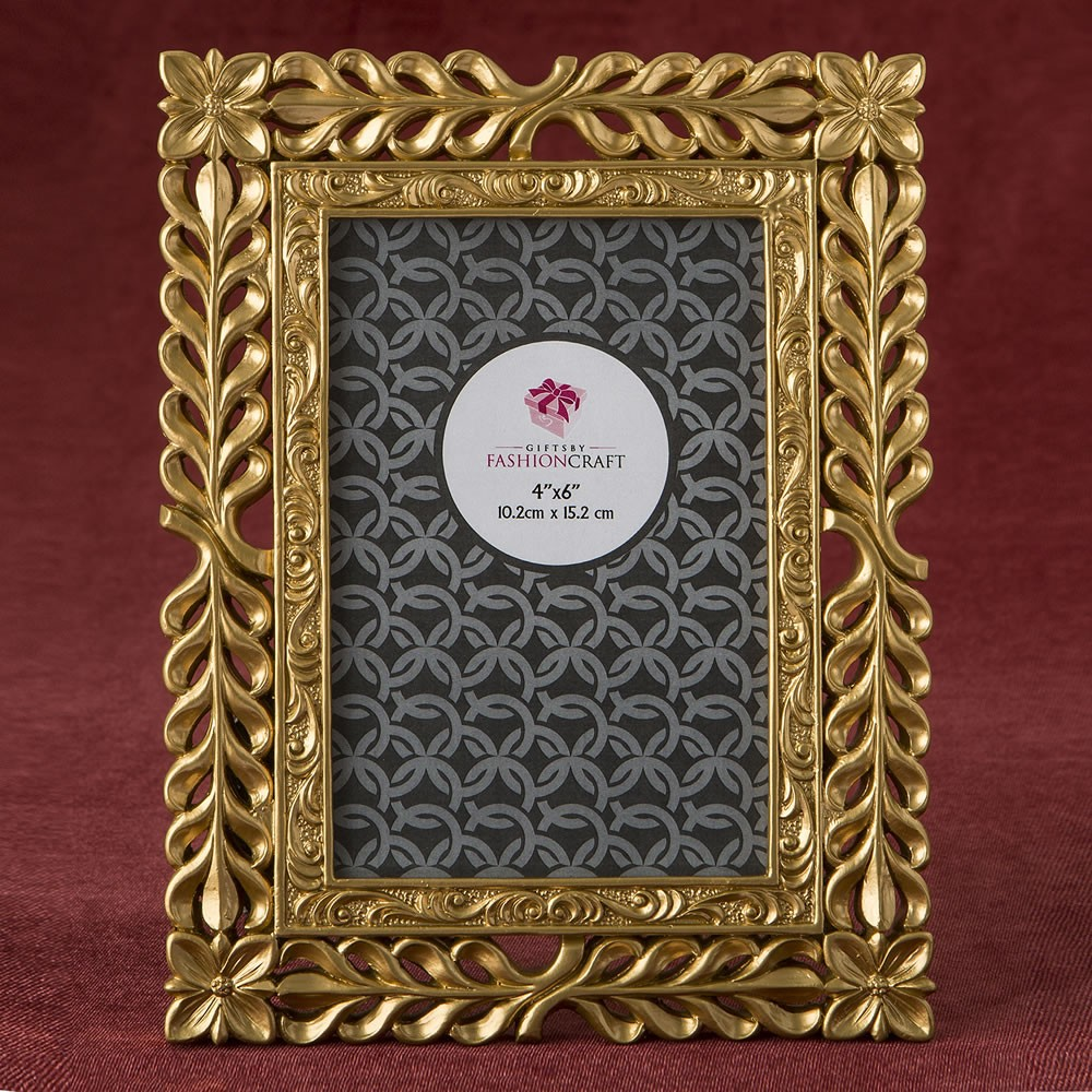 magnificent Gold Lattice 4 x 6 frame from fashioncraft ...