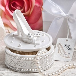 8655 Magical shoe design trinket boxes