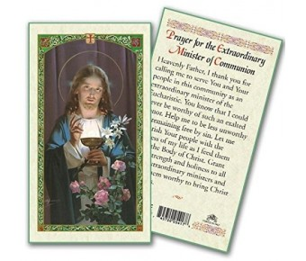 HC9-214 First Communion Prayer Card