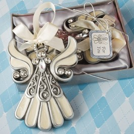 8637 Shimmering Angel  Ornaments