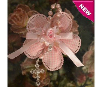 CF10 Italian Confetti Flower with Decade Rosary