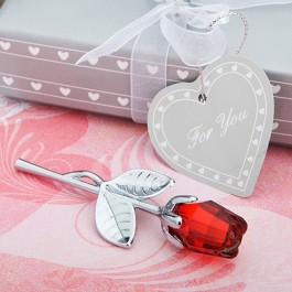 2255 Choice Crystal  Collection Red Rose Favors