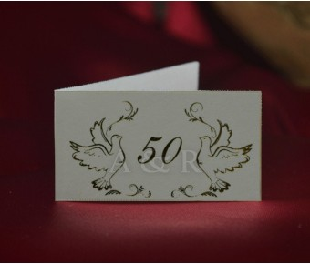 D501 Italian 50th Anniversary with Gold Doves