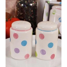 "RB1129 ""Lots of Dots"" Salt & Pepper Shakers"