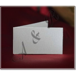 White Italian Wedding Favor Tag Bigliettino