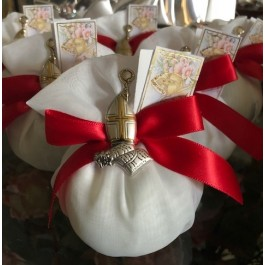 AF2312 Almond favors, Confirmation favors with made in Italy CROSS, favors, koufeta mementos, italian favors