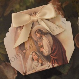 GB105G First Holy Communion Girl Favor Box