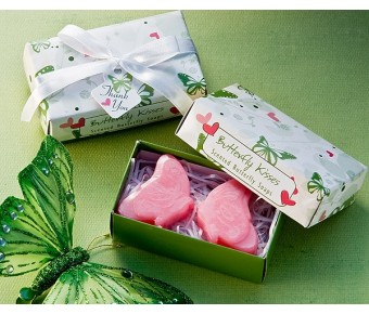 "A75002 ""Butterfly Kisses"" Scented Soaps"