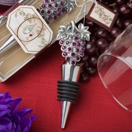 1938 Vineyard Collection Wine Bottle Stopper  Favors