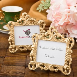8386 Gold Baroque style frame favor from fashioncraft