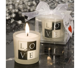 5417 Love Design Candle Favors