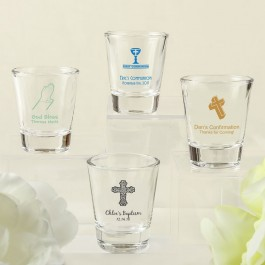 Design your own collection screen printed shot glass from fashioncraft