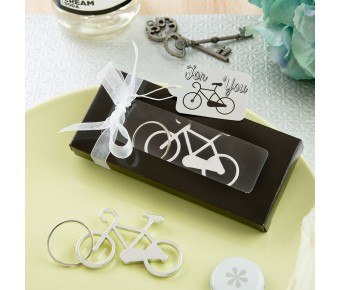 5273 Fun Bicycle key charm bottle opener from fashioncraft