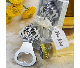 4881 Crown Design Bottle Opener Favors