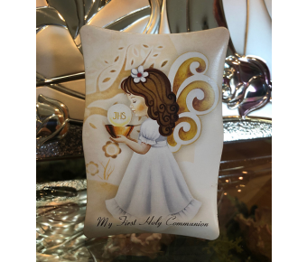First Holy Communion Girl Favor Bomboniere Made in Italy