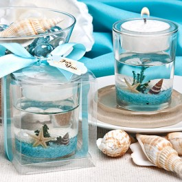 5456 Stunning  beach-themed candle favor