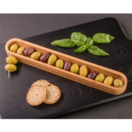 """Tastings"" Olive and App Canoe by myitalianfavors.com"