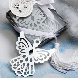 6515 Book Lovers  Collection Angel Bookmark Favors