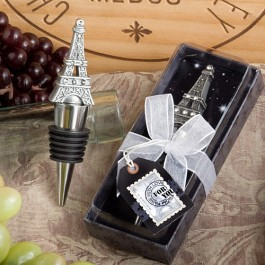1937 From Paris With Love Collection Eiffel Tower Wine Bottle Stopper  Favors