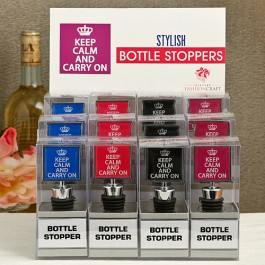 12065 Keep Calm and Carry On Bottle Stopper