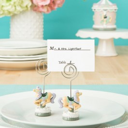 8845 Carousel horse placecard or photo holder from fashioncraft