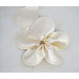 H1350P Italian Confetti Flower Coccarde Ribbon BY THE PIECE (MIN. 24 PIECES)
