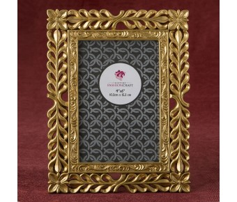 12872 magnificent Gold Lattice 4 x 6 frame from fashioncraft