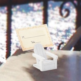 5327 Adirondack Chair Place Card Holders