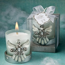 5445 Regal Favor  Collection Angel Themed Candle Holders