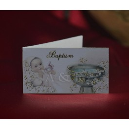 B035E Italian Favor Tags Bigliettini for Baptism